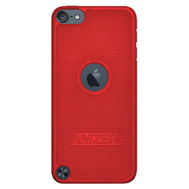 Amzer Snap On Case - Red for iPod Touch 6th Gen, iPod Touch 5th Gen