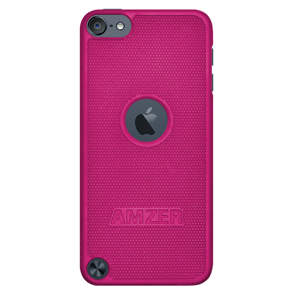 Amzer Snap On Case - Hot Pink for iPod Touch 6th Gen, iPod Touch 5th Gen