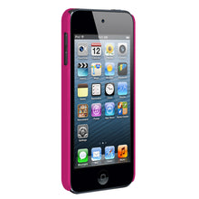 Load image into Gallery viewer, Amzer Snap On Case - Hot Pink for iPod Touch 6th Gen, iPod Touch 5th Gen