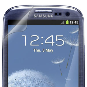 AMZER ShatterProof Screen Protector for Samsung GALAXY S III - Front Coverage