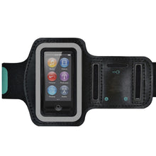 Load image into Gallery viewer, AMZER Water/Sweat Resistant Sports Armband with Key Holder for iPod Nano 7th Gen