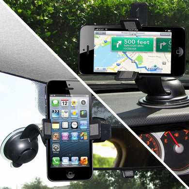 AMZER Dual Car Mount for iPhone 5