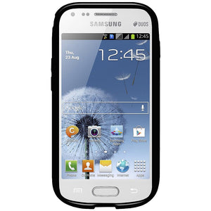 AMZER Pudding TPU Case - Black for Samsung Galaxy S Duos 2 GT-S7582