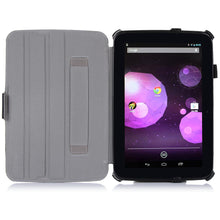 Load image into Gallery viewer, AMZER Shell Portfolio Case With Carbon Fiber Texture for Google Nexus 10