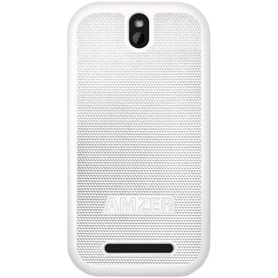 AMZER Snap On Case - White for HTC One SV