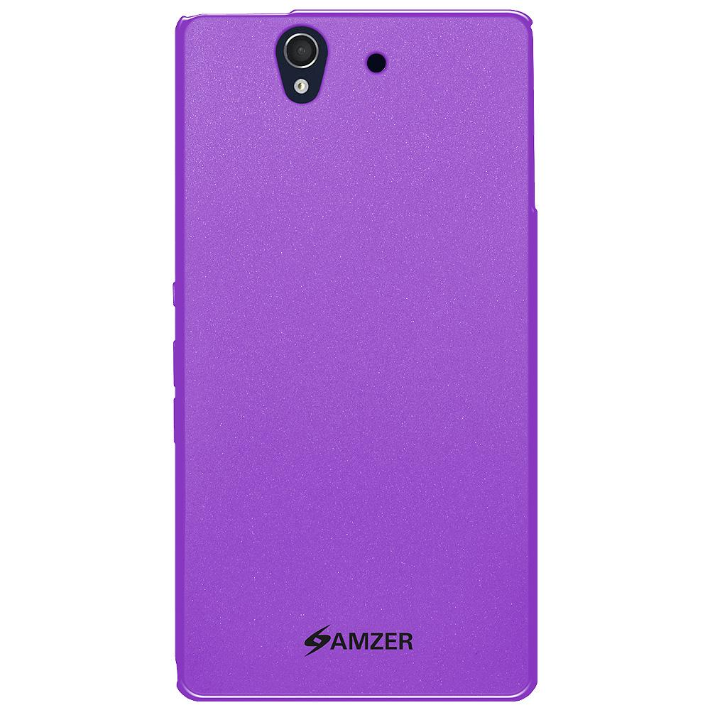 AMZER Ultra Thin Pudding Soft TPU Skin Case for Sony Xperia Z C6602