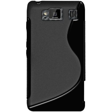 AMZER TPU Hybrid Case - Black for Motorola DROID RAZR MAXX HD XT926