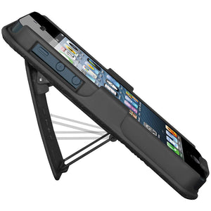 AMZER Shellster with Kickstand  for iPhone 5 - Black