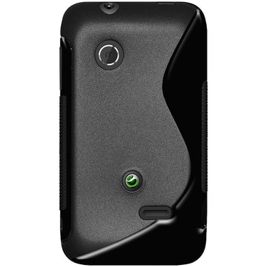 AMZER Shockproof Soft TPU Hybrid Case for Sony Xperia Tipo Dual ST21a2