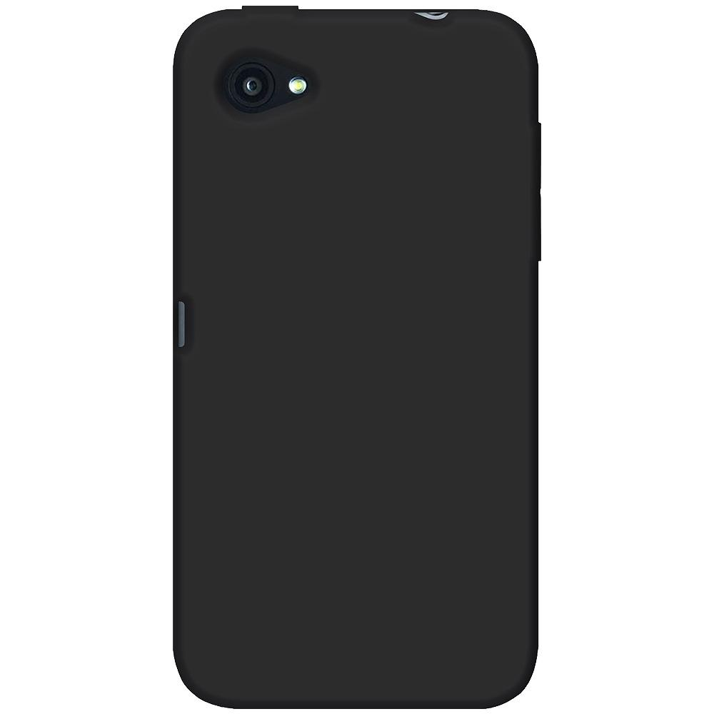 AMZER® Silicone Skin Jelly Case - Black for HTC First