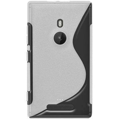 AMZER TPU Hybrid Case - Clear for Nokia Lumia 925