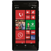 Load image into Gallery viewer, AMZER TPU Hybrid Case - Black for Nokia Lumia 928