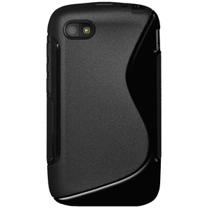 AMZER TPU Hybrid Case - Black for BlackBerry Q5