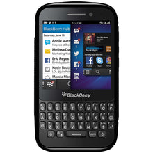 Load image into Gallery viewer, AMZER TPU Hybrid Case - Black for BlackBerry Q5