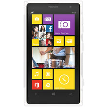 Load image into Gallery viewer, AMZER TPU Hybrid Case - Solid White for Nokia Lumia 1020