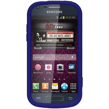 Load image into Gallery viewer, AMZER® Silicone Skin Jelly Case - Blue for Samsung Galaxy Prevail II SPH-M840