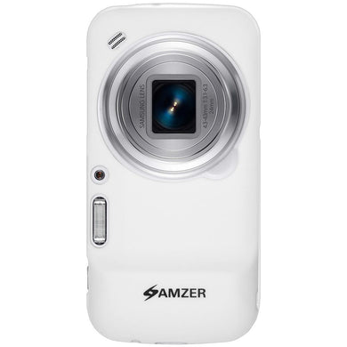 AMZER Pudding TPU Case - White for Samsung Galaxy S4 zoom SM-C1010