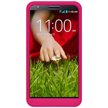 Load image into Gallery viewer, AMZER Silicone Skin Jelly Case for LG G2 D802 - Hot Pink