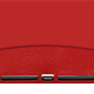 AMZER Shockproof Rugged Silicone Skin Jelly Case for iPad Air - Red