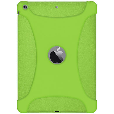 AMZER Shockproof Rugged Silicone Skin Jelly Case for iPad Air 1st Gen 2014 Green