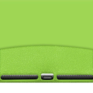 AMZER Shockproof Rugged Silicone Skin Jelly Case for iPad Air - Green