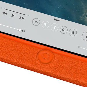 AMZER Shockproof Rugged Silicone Skin Jelly Case for iPad Air - Orange