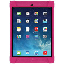 Load image into Gallery viewer, AMZER Shockproof Rugged Silicone Skin Jelly Case for iPad Air - Hot Pink