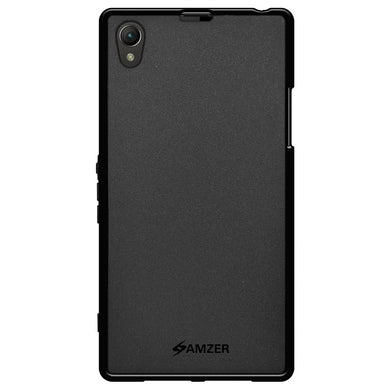 AMZER Pudding TPU Case - Black for Sony Xperia Z1 L39h