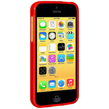 Load image into Gallery viewer, AMZER Pudding TPU Case - Red for iPhone 5C