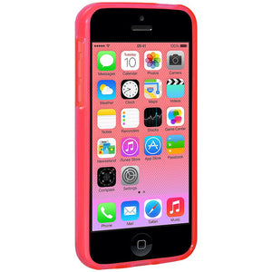 AMZER Pudding TPU Case - Pink for iPhone 5C