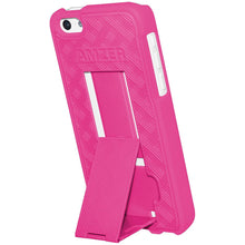 Load image into Gallery viewer, AMZER Shellster Hard Case with Belt Clip Holster for iPhone 5C - Hot Pink