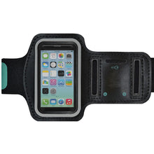 Load image into Gallery viewer, AMZER Water/Sweat Resistant Sports Armband with Key Holder for iPhone 5C