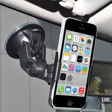 AMZER Suction Cup Mount for Windshield, Dash or Console for iPhone 5C