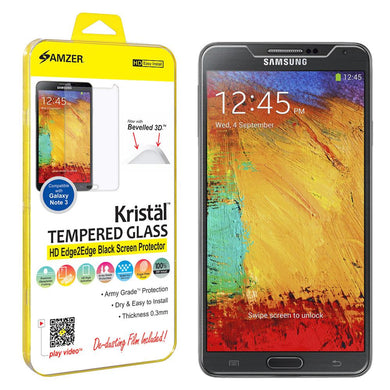 AMZER Kristal Tempered Glass HD Screen Protector for Samsung GALAXY Note 3