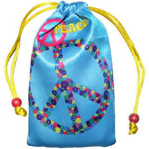 AMZER Drawstring Pouch - Peace Sign