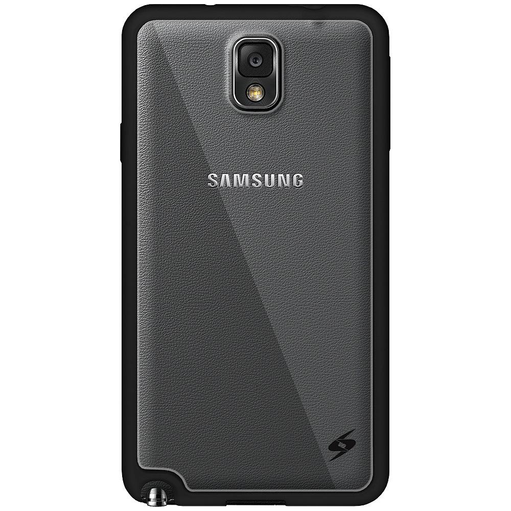 AMZER SlimGrip Hybrid Case - Black for Samsung GALAXY Note 3 SM-N900