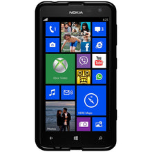 Load image into Gallery viewer, AMZER Pudding TPU Case - Black for Nokia Lumia 625