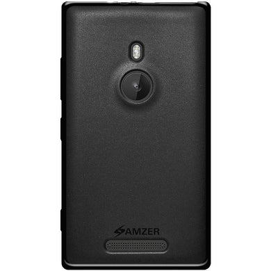 AMZER Pudding TPU Case - Black for Nokia Lumia 925