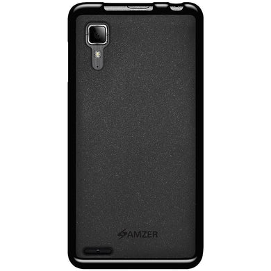 AMZER Pudding TPU Case - Black for Lenovo P780