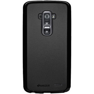 AMZER Pudding TPU Case - Black for LG G Flex D958