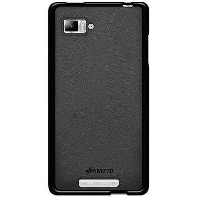 AMZER Pudding TPU Case - Black for Lenovo VIBE Z