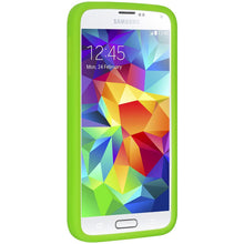 Load image into Gallery viewer, AMZER Silicone Skin Jelly Case for Samsung Galaxy S5 Neo SM-G903F - Green