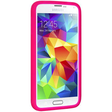 Load image into Gallery viewer, AMZER Silicone Skin Jelly Case for Samsung Galaxy S5 Neo SM-G903F - Hot Pink