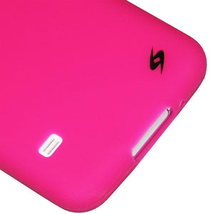 AMZER Silicone Skin Jelly Case for Samsung Galaxy S5 Neo SM-G903F - Hot Pink