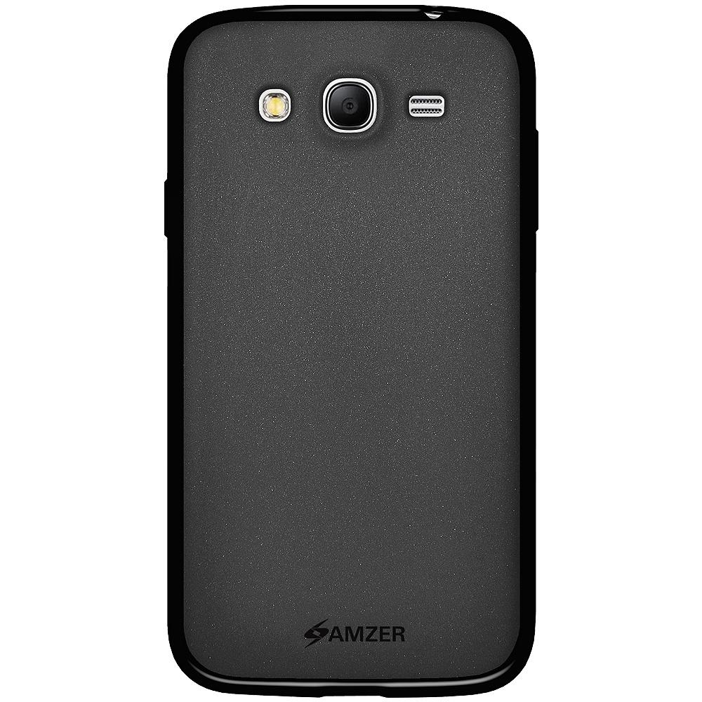 AMZER Pudding TPU Case for Samsung GALAXY Grand Duos - Black