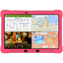 Load image into Gallery viewer, AMZER Shockproof Rugged Silicone Skin Jelly Case for Samsung GALAXY NotePRO 12.2