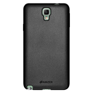 AMZER Pudding Soft TPU Skin Case for Samsung GALAXY Note 3 Neo SM-N7500 - Black