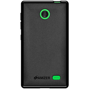 AMZER Pudding TPU Case - Black for Nokia X