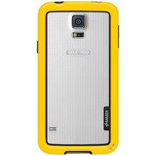 Load image into Gallery viewer, AMZER Border Case - Yellow for Samsung Galaxy S5 Neo SM-G903F