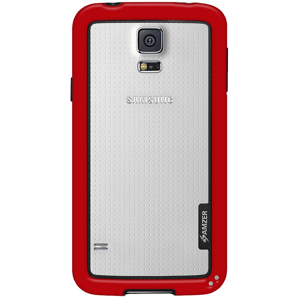 AMZER Border Case - Red for Samsung Galaxy S5 Neo SM-G903F